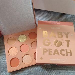 Baby Got Peach eyeshadow palette